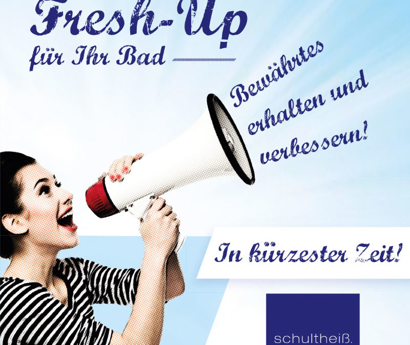 Fresh-Up für Ihr Bad